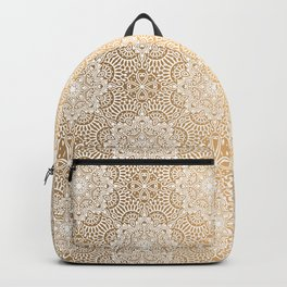 Gold Mandala 18 Backpack
