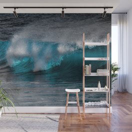 Wave Series Photograph No. 11 - The Most Beautiful Wave Wall Mural
