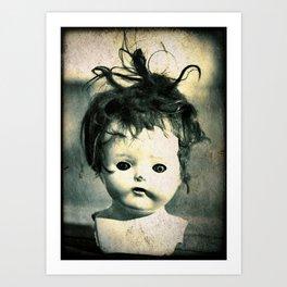 Doll Head Art Print