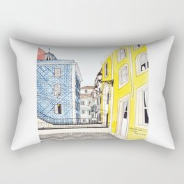 Beautiful Lisbon by Charlotte Vallance Rectangular Pillow
