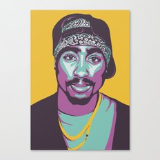 MR SHAKUR Canvas Print