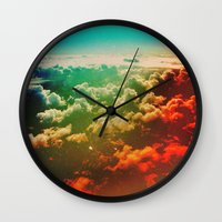 pilot Wall Clocks featuring Pilot Jones by Daniel Montero