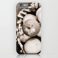 Bowl of apples iPhone 6s Slim Case