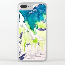 Reve de la Lune Clear iPhone Case