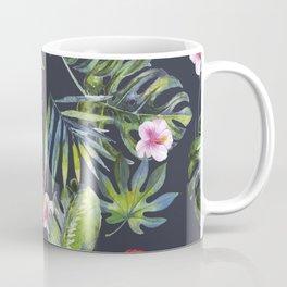 Palm Leaves Pattern 3 Coffee Mug
