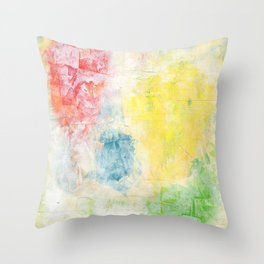 Obscured Hearts Throw Pillow