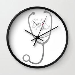 Vet Tech Veterinarian Gift Love Animal Wall Clock