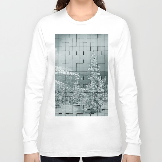 Winter collage Long Sleeve T-shirt