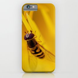Hoverfly 56 iPhone Case