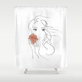 Beauty Blossom Shower Curtain