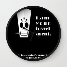 Grim Fandango - Manny Calavera Wall Clock