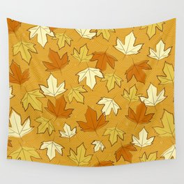 Autumn Love Wall Tapestry