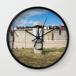 Easter Island, Baltimore Wall Clock