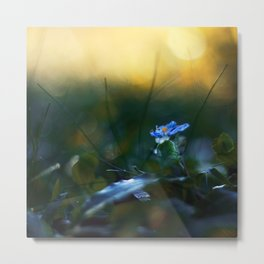 The Incendiary Forest Metal Print