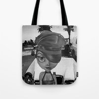 sassy Tote Bags featuring Sassy by Plume 111
