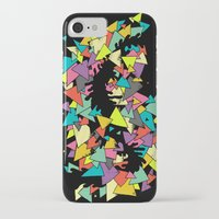 triangles iPhone & iPod Cases featuring Triangles  by AtomicChild