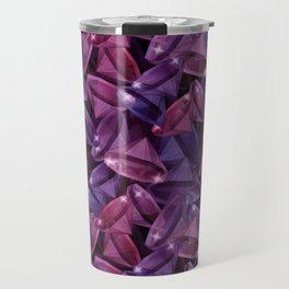 Gems . Alexandrite and Rubies . Travel Mug