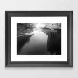 Milwaukee River (Day) Framed Art Print