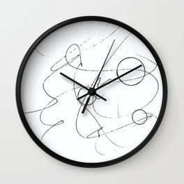 Graphisme Wall Clock