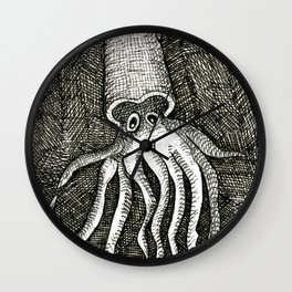 The Squid Wall Clock