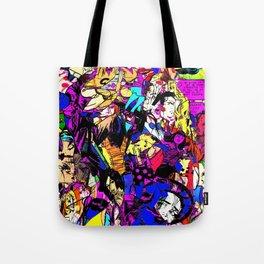 White Knuckle Tote Bag