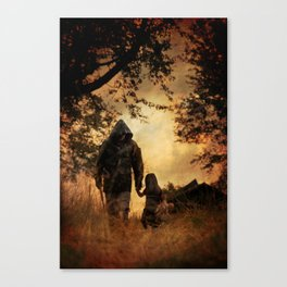 The Long Road Home Canvas Print