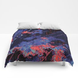 Glitch Cartography #1 Comforters