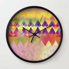 Camping Dreams Wall Clock