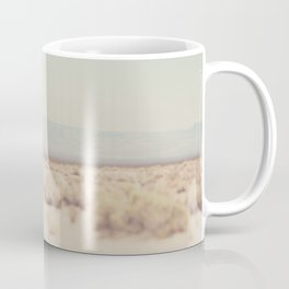 in the middle of the desert ... Coffee Mug