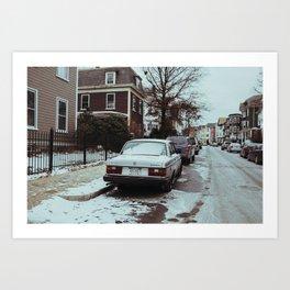 Mission Hill Vibes (Boston) Art Print
