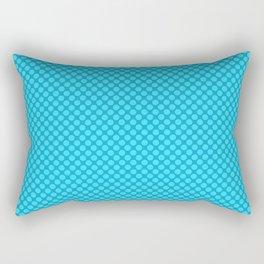 Light blue polka dot pattern Rectangular Pillow
