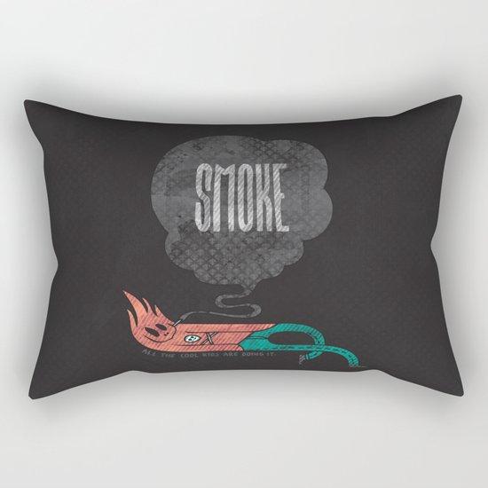 Smoke! Rectangular Pillow