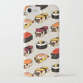 Sushi Pug iPhone Case