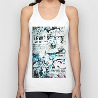 posters Tank Tops featuring posters by Renee Ansell