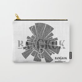 Bangkok Map Carry-All Pouch