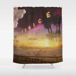 Venice California Shower Curtain