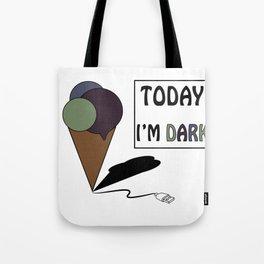 gelatoUsb - today i'm DARK Tote Bag