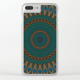 Recreational Maylanta Mandala 38 Clear iPhone Case