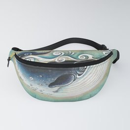 the Blue Whale Fanny Pack