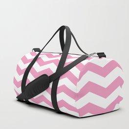 Light Pink Chevron Pattern Duffle Bag