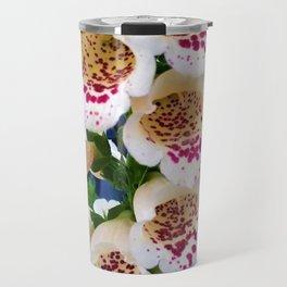 Lovely Spotted Flowers Travel Mug
