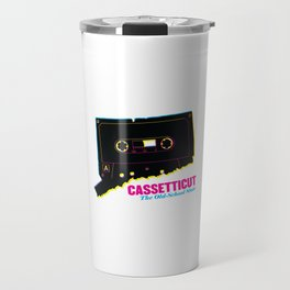 Cassetticut: The Old School State Travel Mug