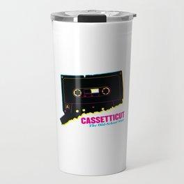 Cassetticut: The Old School State Travel Mug