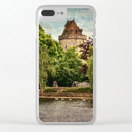 The Curfew Tower Windsor Castle Clear iPhone Case
