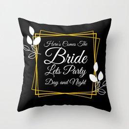 Bachelorette party masks, Bachelorette party, Throw Pillow