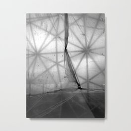 Tarp and Triangles Metal Print
