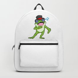 Frog as Singer with Deep voice Backpack