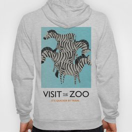 Visit the Zoo Zebra Hoody