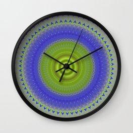 Mandala Peafowl 1.2 Wall Clock