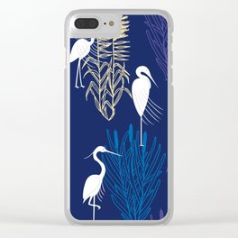 Herons Clear iPhone Case